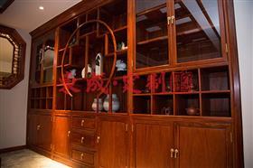 东成红木全屋定制:茶柜