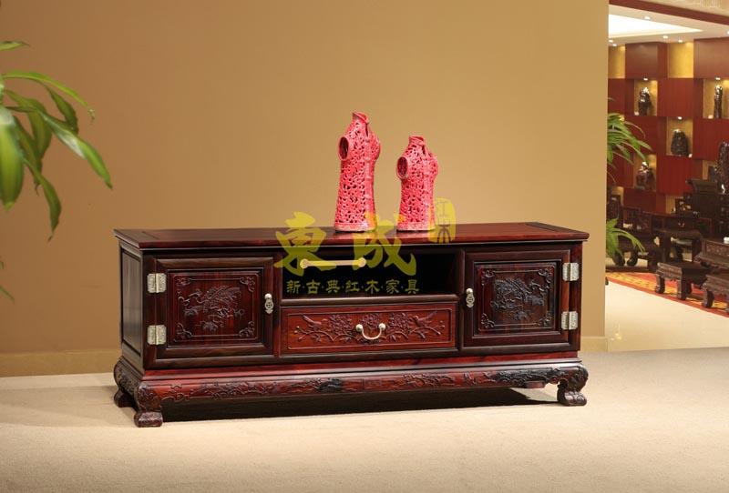 东成红木大象宝座1.55米电视柜