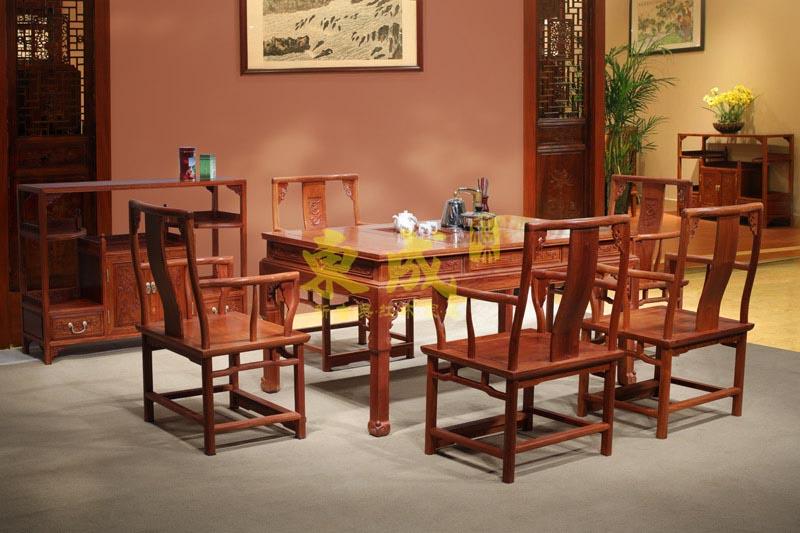 东成红木1.52米方形茶台