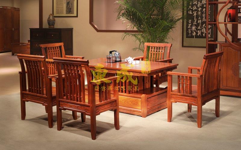 东成红木致和茶台