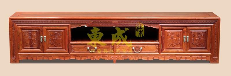 东成红木豪华大象地柜