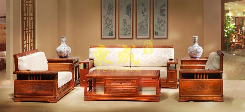 东成红木香茗沙发(1号)