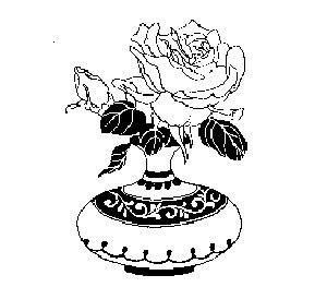 简单花瓶纹样简笔画