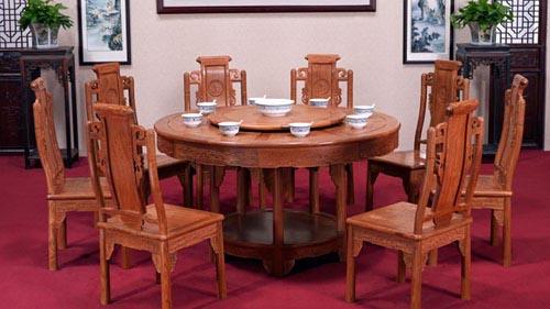 红木家具摆设与装饰